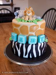 jungle baby shower cakes jungle baby cake makes cakes brian judd cake decorating