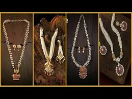 long pearl chain necklace images Pearl long chain and necklace designs latest pearl chain jpg
