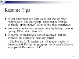 Resume Summer Job by Resume Writing And Interviewing Skills Ppt Download