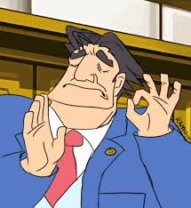 Objection Meme - when you yell objection just right ace attorney miles