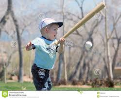 small boy with bat and ball stock photo image 4886020