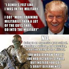 Ranger School Meme - mcspocky on twitter donald trump shares his military