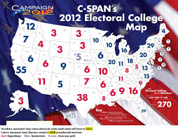 Republican States Map by Electoral College 21st Century Citizenship