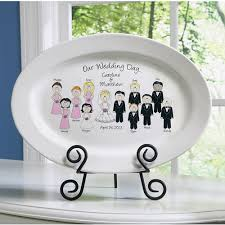 wedding platter personalized wedding character plate walmart