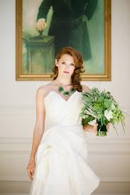 emerald art deco wedding featured on green wedding shoes makeup