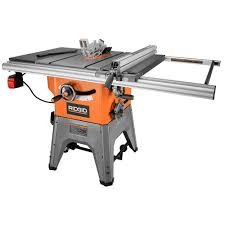 table saw with dado capacity ridgid 13 amp 10 in professional cast iron table saw r4512 the