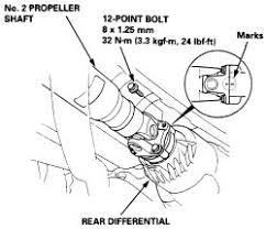 honda crv rear differential repair guides driveline rear driveshaft and u joints