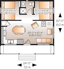 2 bedroom 1 bath floor plans style house plans plan 5 895