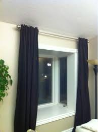 Where To Put Curtain Rods A Berry Simple Life The Easiest Way To Hang Level Curtain Rods