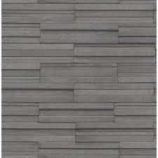 washable wallpaper for kitchen backsplash fine decor ceramica slate tile washable wallpaper charcoal