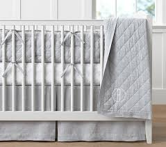 Gray And White Crib Bedding Gray And White Dots And Stripes Crib Bedding Neutral Baby Baby