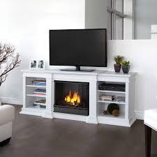 electric fireplace white binhminh decoration