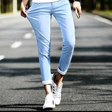 mens light colored jeans click to buy casual men s jeans mens cuffed jeans 2017 summer