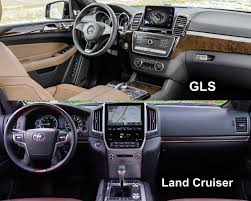 mercedes gls interior benim otomobilim 2016 toyota land cruiser vs 2016 mercedes gls