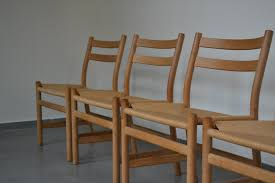 1980s furniture danish paper cord chairs by søren holst for fredericia 1980s set