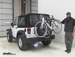 thule jeep wrangler thule spare tire bike racks review 2016 jeep wrangler