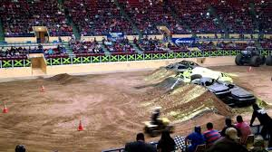 monster truck show in texas friday youtube maximum destruction double backflip attempt metlife