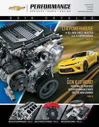 corvette performance upgrades chevrolet performance catalog offers more