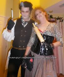 Inappropriate Couples Halloween Costumes Coolest Sweeney Todd Lovett Couple Halloween Costume
