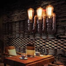 Esszimmer Lampen Rustikal Industrielle Bronze Retro Antiken Rustikalen Wasserleitung