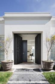 Home Interior Arch Design Contemporary Door Glazed Toplights And Sidelights House Pinterest