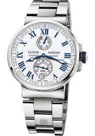 titanium bracelet watches images Ulysse nardin marine chronometer manufacture 43mm ste bracelet jpg