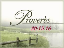 never satisfied thanksgiving sermon proverbs 30 15 16