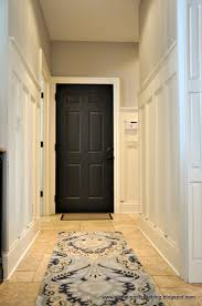 benjamin moore revere pewter paint color add trim to your hallway