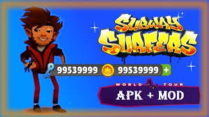 subway surfer mod apk subway surfers apk mod unlimited money coins subway