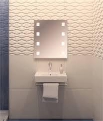 illuminated bathroom mirrors lighting styles