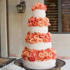 coral wedding cakes beautiful coral wedding cake coral and navy blue wedding