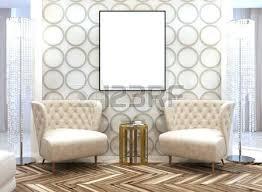 in the livingroom deco designer seating area in the living room in the style of