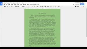 how to change the page color in google docs tutorial hd youtube