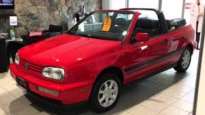 for sale 1995 cabrio at cambridge volkswagen youtube