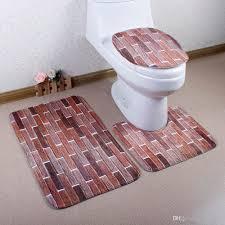 Non Slip Bathroom Rugs by 2017 Print Design Anti Slip Bath Rug Set Non Slip Floor Carpet