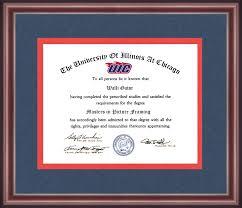 of illinois diploma frame of illinois chicago diploma frame talking walls