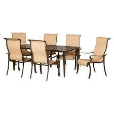 brigantine 7 piece sling patio dining furniture set target