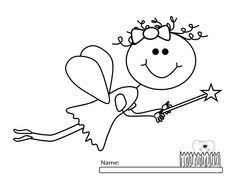 tooth fairy coloring page cute tooth svg file tooth svg cut file tooth fairy svg files for