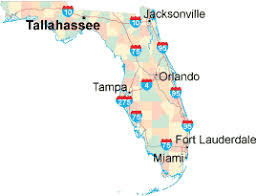 florida highway map florida map state maps of florida