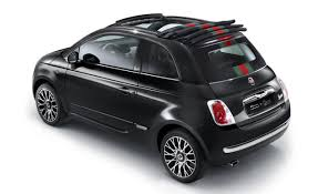 fiat success of fiat 500 by gucci begets roofless fiat 500c by gucci