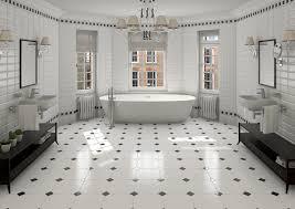 white bathroom floor tile ideas home design