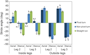 exceptional running and turning performance in a mite journal of