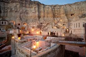 highbrow cave dwelling is five star turkish hotel