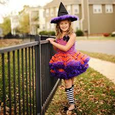 Halloween Costume Tutu Whimsical Witch Tutu Costume Poshtots Halloween Costume