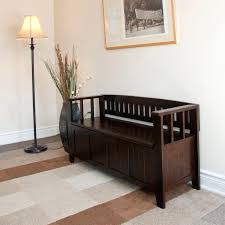 foyer furniture for storage cushion small wooden entryway