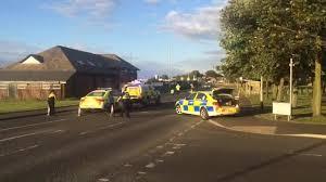 crash on cowpen road in blyth sparks major emergency services
