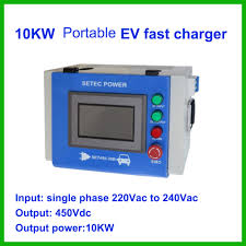 nissan leaf charger type portable type dc fast ev charger 10kw buy portable type dc fast