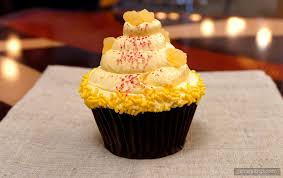 filled pineapple raspberry cupcake at disney u0027s contempo cafe