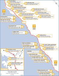 Big Sur Map California U0027s Central Coast Road Trip Guide