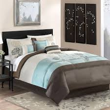 King Size Comforter Sets Bed Bath And Beyond 61 Best Turquoise And Brown Bedding Images On Pinterest Brown